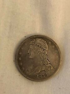 1838 Silver Capped Bust Half Dollar 50C