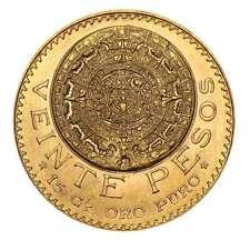Mexico Gold 20 Pesos .4823 ozt Random Year