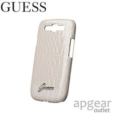 GENUINE GUESS GUS3CRBE BEIGE HARD BACK CASE COVER SAMSUNG GALAXY S3