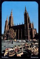 Wiesbaden  -  Markt und Marktkirche  -  1980