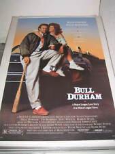BULL DURHAM 1988 US ORIGINAL 27x41 SS ROLLED MOVIE POSTER (468)
