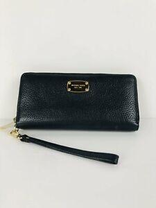 Michael Kors Women's Leather Clutch Purse   M UK10-12   Black