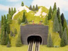 Noch 44800 Z Tunnel Vorsatz-Portal 2-gleisig 9 x 7 cm 2x