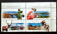 Canada 1998 Scenic Highways Block Of 4 Complete Set - 4v MNG