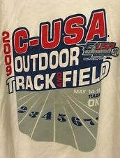 2009 C-Usa Outdoor Track And Field T-shirt Men's L