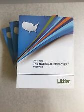 2014-15 The National Employer Volumes I-III plus CD-ROM