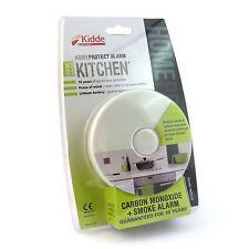 Kidde homeprotect cuisine Détecteur de fumée + monoxyde carbone 10 Year pile
