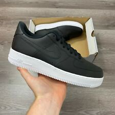 NIKE AIR FORCE 1 07 LOW BLACK WHITE TRAINERS SIZE UK7 US8 EUR41 AA4083-015