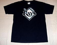Tampa Bay Rays T3 Baseball YOUTH Large Dark Blue T-Shirt 50% Cotton