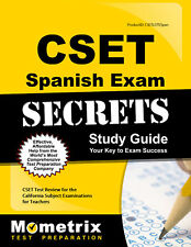 CSET Spanish Exam Secrets Study Guide