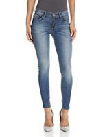 SIWY DENIM Hannah Ankle Slim Skinny Jeans Reflection Faded Blue 32 $196 #28