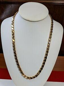 """18Kt Gold 22"""" Chain 21.05 Dwt/32.7Gr - 187715A"""