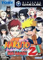 GameCube Spiel - Naruto: Gekitou Ninja Taisen! 2 benötigt Freeloader JAP nur CD
