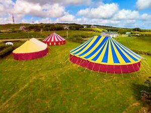 Festival big top circus tent marquee hire
