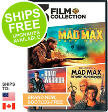 Mad Max Fury Road / Road Warrior / Beyond Thunderdome (DVD)New,Trilogy,Action