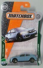 Matchbox '17 Honda Civic Hatchback  Light Blue  2018 MBX Road Trip