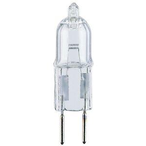 Halco 107009 JC20/6.35 Quartz Halogen Lamp 20W 12V GY6.35 Base Light Bulb 15485