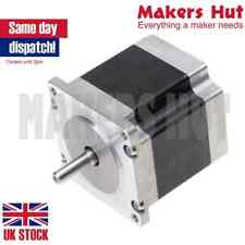 Nema23 56mm shaft 6.35mm stepper motor 56.4x56.4x56mm 1.3Nm 3A