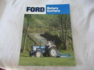 Ford rotary cutters brochure