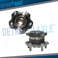 AWD REAR Wheel Hub Bearing Pair for 2003 2004 2005 2006 2007 Nissan Murano