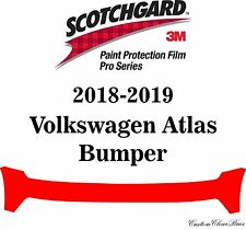 3M Scotchgard Paint Protection Film Pro Series Clear 2018 2019 Volkswagen Atlas