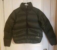 OAKLEY Women's Black Goose Down Jacket Puffer Coat Size Small EUC