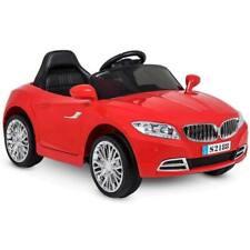 Auto Macchina Per Bambini Elettrica Crazy 6V Rosso Con Telecomando Luci e Suoni