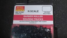 MICRO-TRAINS LINE # 003 10 041 BARBER ROLLER BEARING TRUCKS N SCALE TEN PAIR
