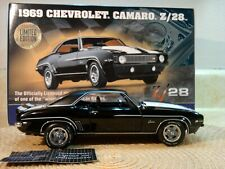Franklin Mint 1969 Chevy Camaro.1:24.Rare Z28 Le.Nos.Docs.New.Pristine