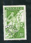 Timbre MONACO préoblitéré YT n° 12B - Cavalier à cheval - 1954/59
