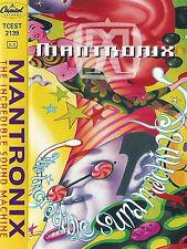 MANTRONIX THE INCREDIBLE SOUND MACHINE CASSETTE ALBUM Hip-House Breaks Bonus tra