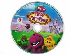 Barney: Best Fairy Tales DVD, 2010 Disc Only  No Case Comes in Paper Sleeve