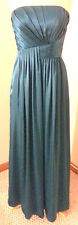 BARI JAY Bridesmaid Wedding Prom Dress Style #309 Peacock Blue Green  Size 8 NWT