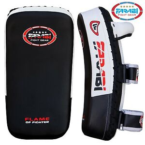 MMA Kick Boxing Strike Shield Thai Pad Focus Target Boxing Hook Arm Black