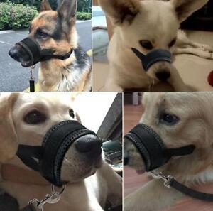 Dog Head Collar Stop Pulling Dog Muzzle For Pitbull German Shepherd L XL XXL