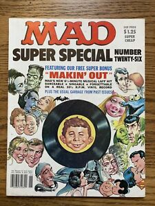Mad Super Special No. 26 Magazine w/ Record Making Out FN+