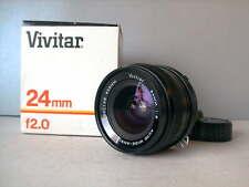 Vivitar (Kiron) 24mm f2 per Nikon, super rare ottica punte!!!