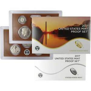 2017 S Proof Set U.S. Mint Original Government Packaging OGP Collectible