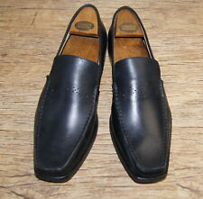 Brand New & Rare Loake men's leather Slip-On black Loafers UK 9 EU 43 RRP £155