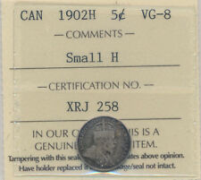 1902H 5 cents  small H in VG-8 Certified