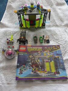 LEGO Teenage Mutant Ninja Turtles 79119 and 79100