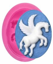 Horse with Wings Pegasus Mini Silicone Mold for Fondant, Chocolate, Crafts