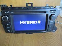 Toyota Yaris Radio Stereo CD Player SAT NAV COMPATIBLE SCREEN 86140-0D060