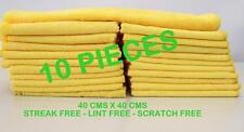 10 Microfibre Cleaning Cloth Towel Large Size for Car & Home Thick & MIcrofiber