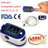 Nuevo CE/FDA Dedo oxímetro de pulso SPO2 monitor+USB y software para PC 24Horas