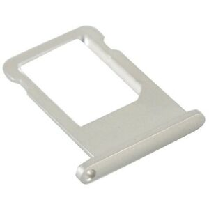 iPhone 6 Plus New Silver/White Nano Sim Card Tray Holder Slot Connector Key Part