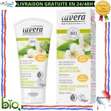 Crème Équilibrante Matifiante Visage Ingrédient Végétaux Bio Naturel Peau Mixte