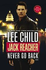 Never Go Back by Lee Child, Jack Reacher book 18, New, trade paperback
