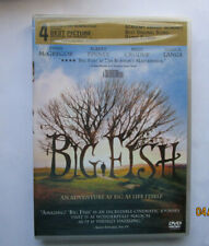Big Fish (Dvd, 2004, Widescreen) New Sealed Loaded with Special Features