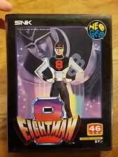 EIGHTMAN *Neo Geo AES SNK NTSC Jap Game* No notice Etat correct No MVS